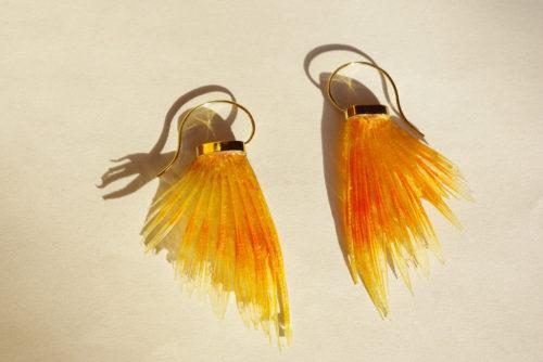 Ohrringe Fischflossen