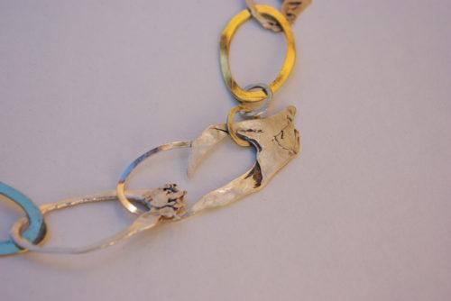 Collier aus Ringen