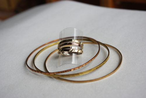 Ringe goldlegiert