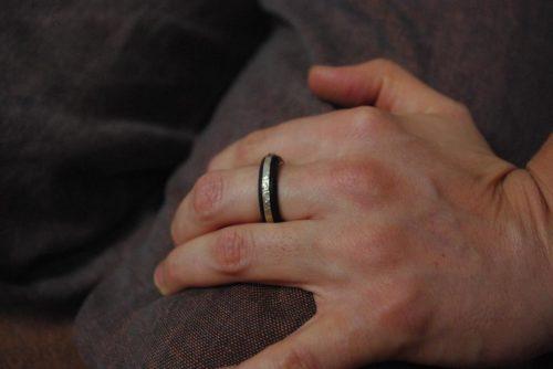 Ebenholz Ring