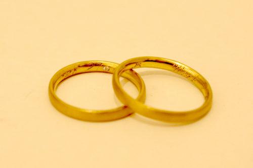 Ehering Gold, Diamant